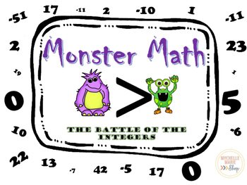 Positive and Negative Integer Game