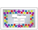 Positive and Negative Integers Board Game