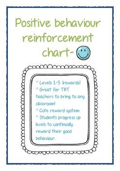 Positive behaviour reinforcement chart