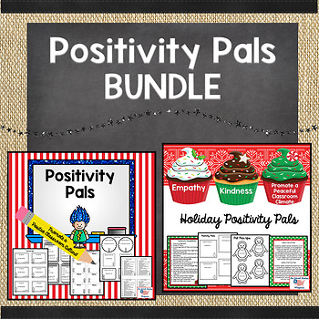 Positivity Pals: Holiday Edition and Year Round Pal BUNDLE