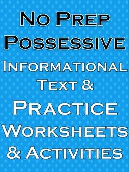 Possessive Nouns and Pronouns