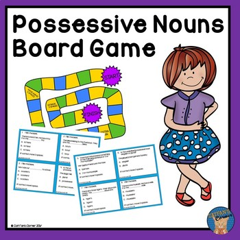 Possessive Nouns Board Game