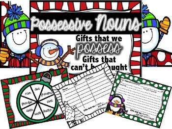 Possessive Nouns: Holidays