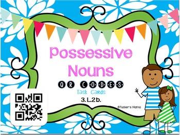 Possessive Nouns QR Codes