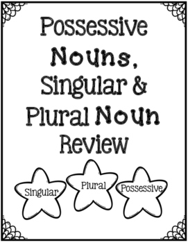 Possessive Nouns & Singular/Plural Noun Review