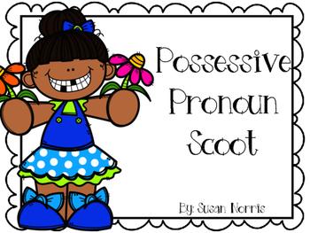 Possessive Pronoun Scoot