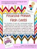 Possessive Pronouns and Possessive /s/ Flash Cards