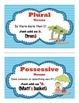 Possessive and Plural Nouns