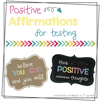 Possitive Affirmations for Testing