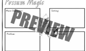 Possum Magic by Mem Fox - story board