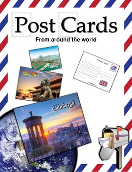 Post Cards from around the World / Set 2