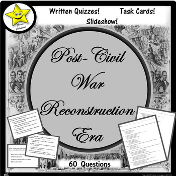 Post-Civil War Reconstruction Era Review and Test Prep