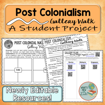 Post Colonialism Gallery Walk Student Project