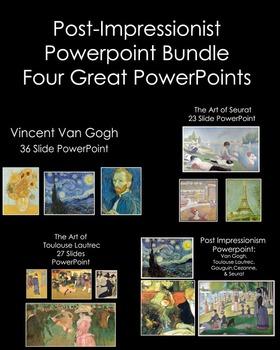 Art History-Post Impressionism Bundle