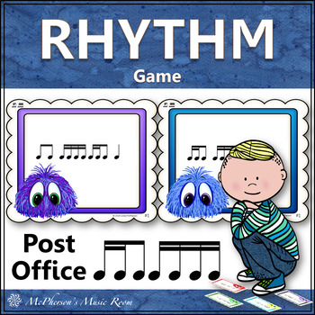 Post Office: 2 Sixteenths/1 Eighth Note with Sixteenth Notes