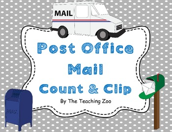 Post Office Mail Count & Clip 1-20