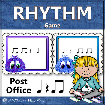Post Office: Quarter Note, Quarter Rest and Eighth Notes (titi)