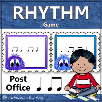 Post Office: Quarter Note and Eighth Notes (ta titi)