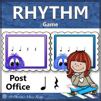 Post Office: Quarter Note and Quarter Rest (ta rest)