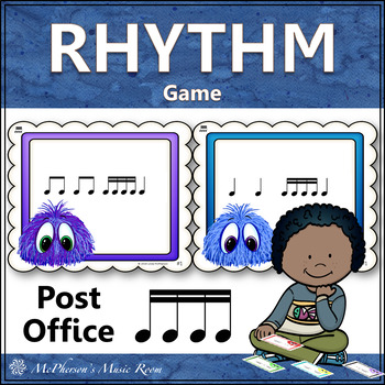 Post Office Rhythm Game Sixteenth Notes