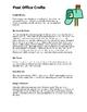Post Office Theme: Curriculum Ideas for Preschool or Kindergarten
