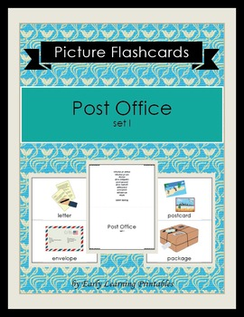 Post Office (set I) Picture Flashcards