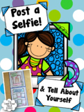 Post a Selfie! and Tell About Yourself ~ Craftivity {Back