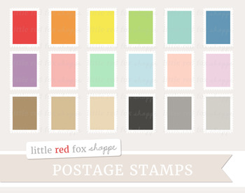 Postage Stamp Clipart