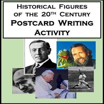 History Writing Activity Between Famous Historical Figures