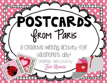 Postcards From Paris Writing Activity