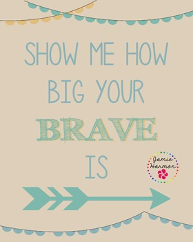 Poster: How Big Your Brave Is
