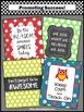 Owl Theme Classroom Decor Keep Calm and Teach On Motivatio