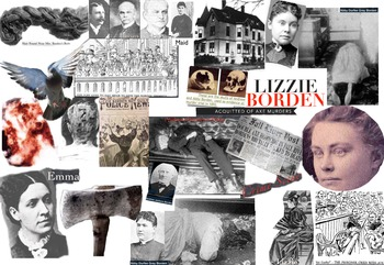 Lizzie Borden FREE POSTER Axe Murders Father & Stepmother