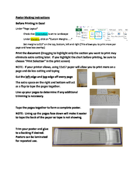 Poster Making Instructions