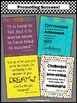 Classroom Decor Posters with Inspirational Quotes for Back