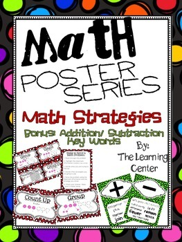 Poster Mini Series: Math Strategies