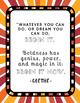 Poster Quotes Bundle   Rainbow Starburst   School Counselor