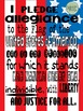 Poster - The Pledge of Allegiance Classroom Poster {Messar
