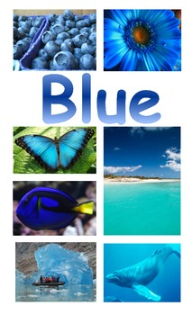 Poster for Color Words using Nonfiction Photographs