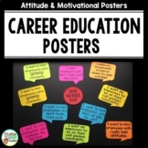 Attitude Posters - Motivational Posters - Career and Vocat