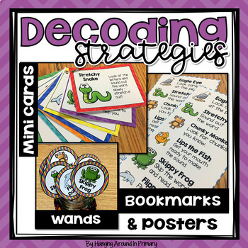Guided Reading Strategies Posters and More - Chevron
