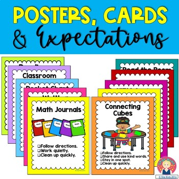 Center Cards, Posters and Expectations