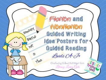 Posters: Fiction and Nonfiction Guided Writing Ideas for L