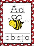 Posters del alfabeto- Spanish Alphabet Picture Cards