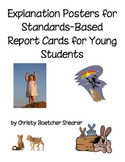 Posters for Explaining Standards-Based Report Cards to You