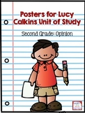 Posters for Lucy Calkins Unit of Study- Second Grade Opini