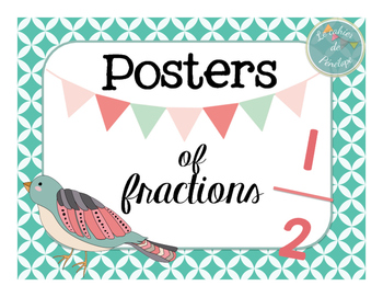 Posters of fractions for the classroom (printable)