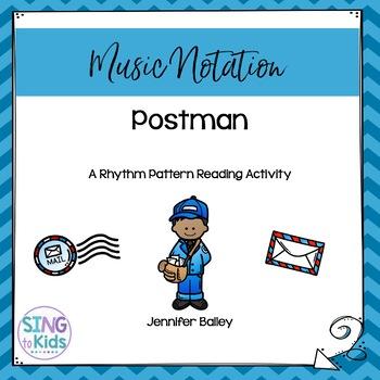 Postman: A Rhythm Pattern Reading Activity