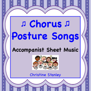 Posture Songs Accompaniment Sheet Music