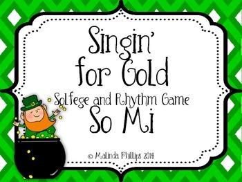 Pot O' Gold: So Mi Solfege and Rhythm Game